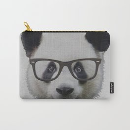Geek Panda with Glasses Carry-All Pouch