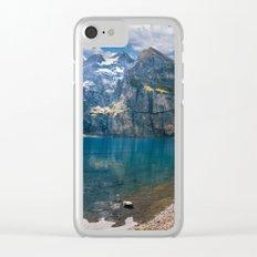 Oeschinen Lake Clear iPhone Case