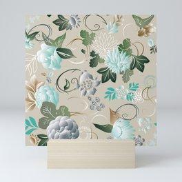 Flores salvajes Mini Art Print