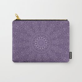 Coral Purple Carry-All Pouch