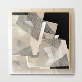 Raw shapes Metal Print