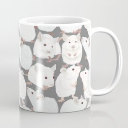 White Mice Coffee Mug