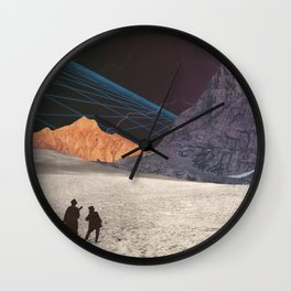 Programmed Perspective Wall Clock