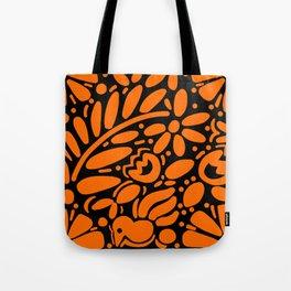 Beautiful Orange Otomi Tote Bag