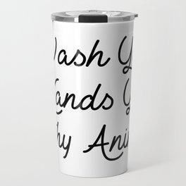ya filthy animal Travel Mug