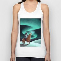 howl Tank Tops featuring Howl by slewisillustration