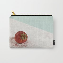 Pretty strawberry sequin Carry-All Pouch
