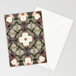 Chrysanthemum Kaleidoscope Photographic Pattern #1 Stationery Cards