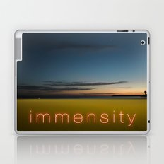 Beach Summer Immensity Laptop & iPad Skin