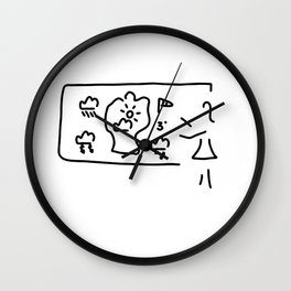 weather forecast weather tv Wall Clock