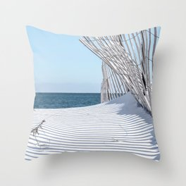 Storm Fencing 2015 Throw Pillow