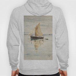 """Egon Schiele """"Segelschiff mit Spiegelungen (Sailing ship with reflection)"""" Hoody"""