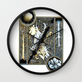 Anor and Ithil Wall Clock