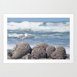 Tide Monitor Art Print