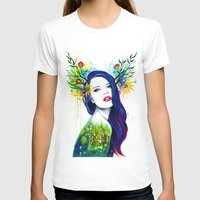 spring T-shirts featuring -Spring- by PeeGeeArts