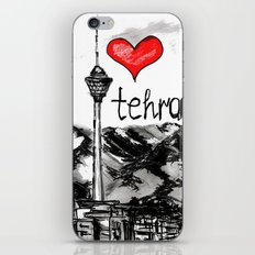 I love Tehran  iPhone & iPod Skin
