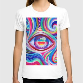 """Eye love you too"" by Audreana Cary & Adam France T-shirt"