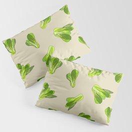 Lettuce Bok Choy Vegetable Pillow Sham