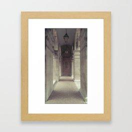 Silent Ingress Framed Art Print