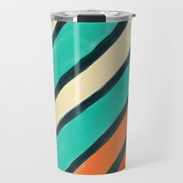 Coloured Stripes Travel Mug