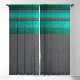 """Architecture, cement texture & colorful II"" Blackout Curtain"