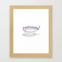 Catapillar. Framed Art Print