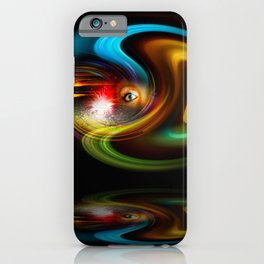 Abstract Perfection - Magical Light And Energy 2 iPhone Case
