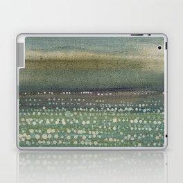 Landscape Dots- Blue Laptop & iPad Skin
