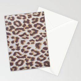Background of animal print Stationery Cards