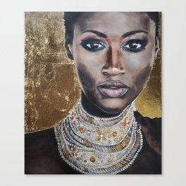 Graceful Ebony Canvas Print