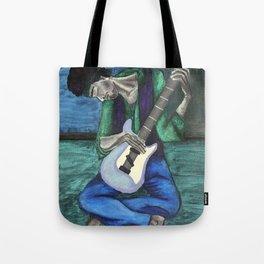 Jimi's Old Guitar Tote Bag