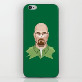 Breaking Bad - Walter White Beaten Up iPhone Skin