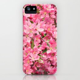 Crab Apple - Pommetier iPhone Case