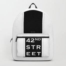 42nd Street - New York Backpack