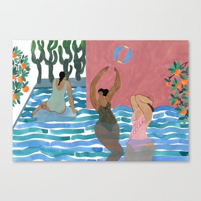 Marysia Swim Canvas Print