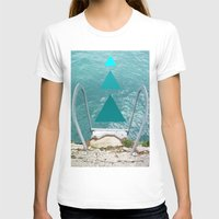 swim T-shirts featuring Swim by TiannaFowler