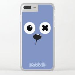 Rabb:it, the cool bunny Clear iPhone Case