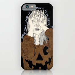 Knock Knock iPhone Case