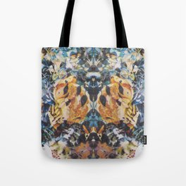 Rorschach Flowers 3 Tote Bag