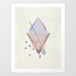 Wood 02 Art Print