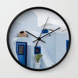 Island house Wall Clock