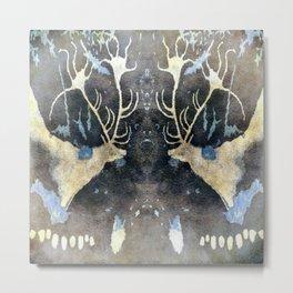 Lascaux Cave Deer V Metal Print