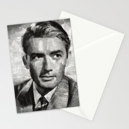 Gregory Peck, Actor Stationery Cards