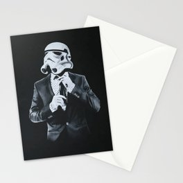 Stormtrooper in smoking Stationery Cards