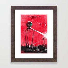 The War Of The Worlds - H G Wells Framed Art Print