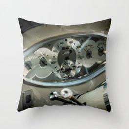 Dashboard Throw Pillow