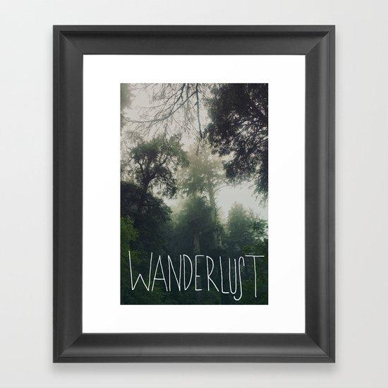 Wanderlust: Oswald West, Oregon Framed Art Print