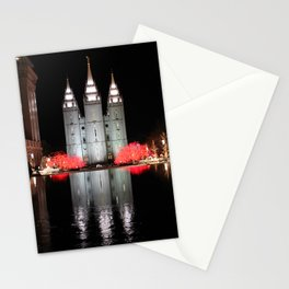 LDS Temple Square - Salt Lake City, Utah Stationery Cards