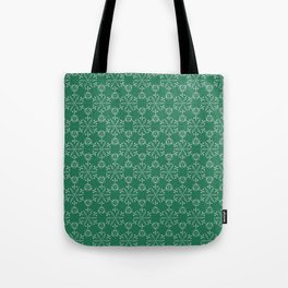 Hexagonal Circles - Emerald Tote Bag