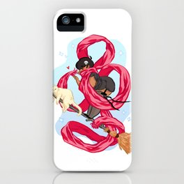 Scarf Witch  iPhone Case